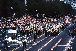 Cherry Blossom Parade. Courtesy of Washington D.C. Convention and Visitors Association.