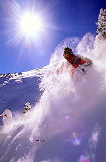 Downhill skiing isn't the only fun, or hair-raising, winter option! Courtesy of Aspen Skiing Company.