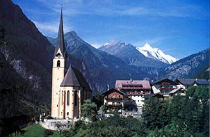 A Typical Austrian Alpine village. Photo courtesy of MaupinTour.