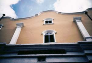 Curacao's Mikve Isreal Synagogue, oldest still in use in the Western Hemisphere. Copyright: Sharon Lloyd Spence.