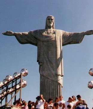 Corcovado, Christ the Redeemer statue. © Kenneth Rapoza