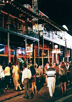 Century old buildings are the backdrops for 'Cigar City's' booming nightlife. Copyright Ybor City Chamber of Commerce.