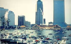 Skyscrapers & water: Jacksonville. Used with permissions.
