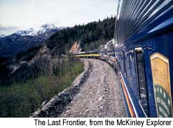 The Last Frontier, from the McKinley Explorer. © Warren Lieb, 1999