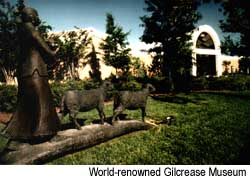 World-renowned Gilcrease Museum. Credit: Courtesy of Tulsa Chamber of Commerce